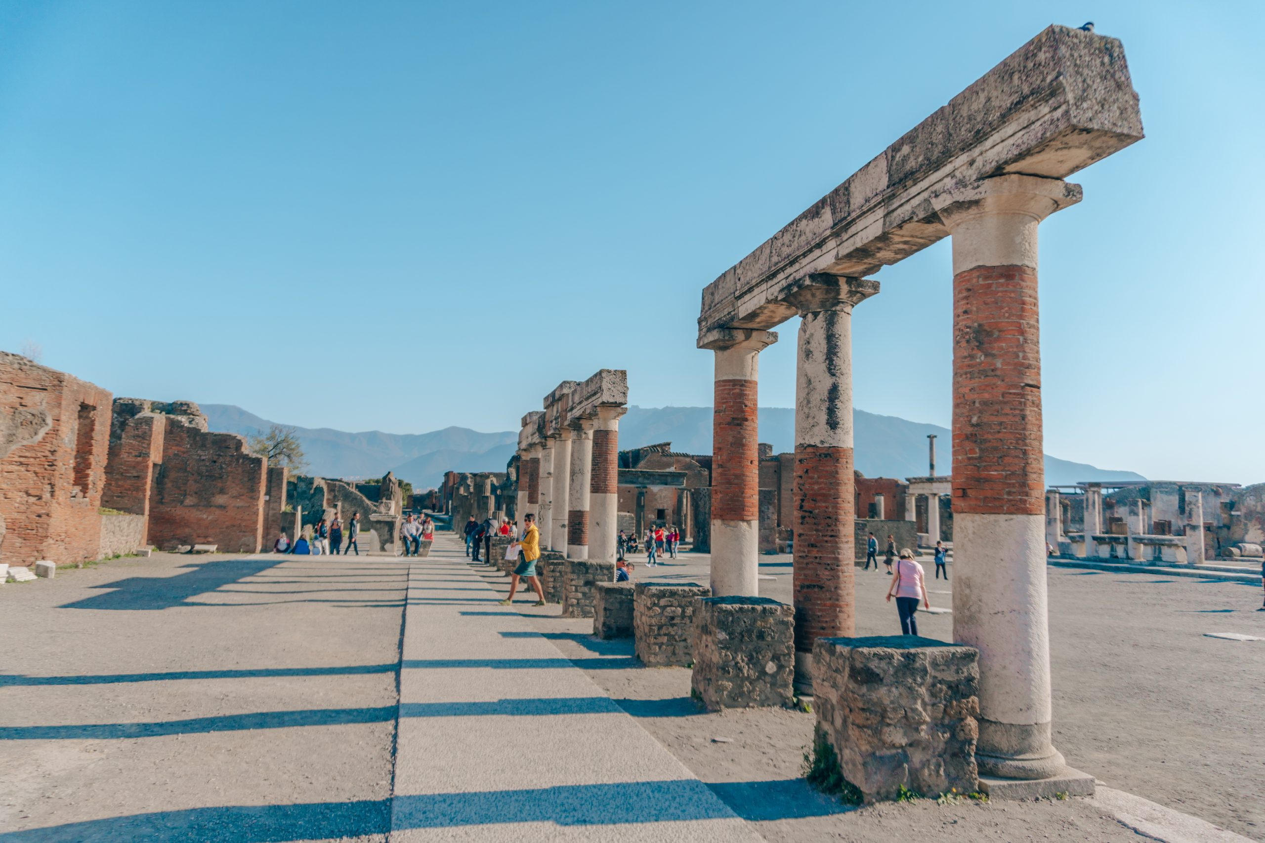 Pompeii: The City Frozen in Time