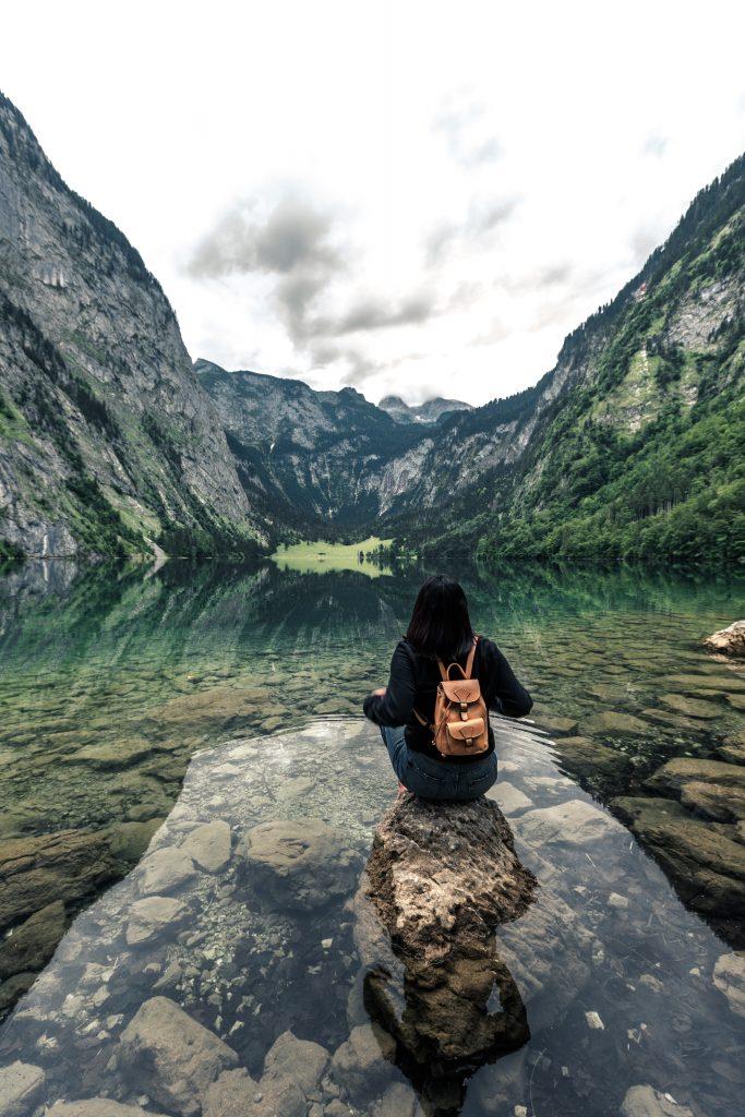 Reflection Obersee Berchtesgaden